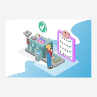 Lista kontrolna usługi i raport
