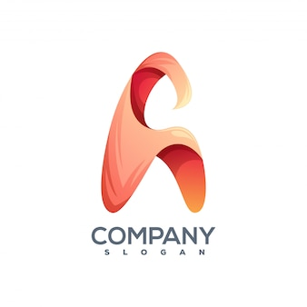 Litera a logo gotowe do użycia