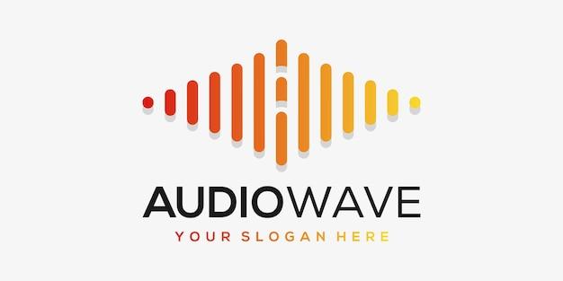 Litera a z pulsem. element akordu. szablon logo muzyka elektroniczna, korektor graficzny, sklep, muzyka dj, klub nocny, dyskoteka.