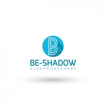 Litera b logo template