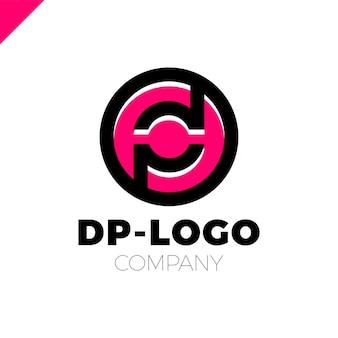 Litera d i litera p logotypu
