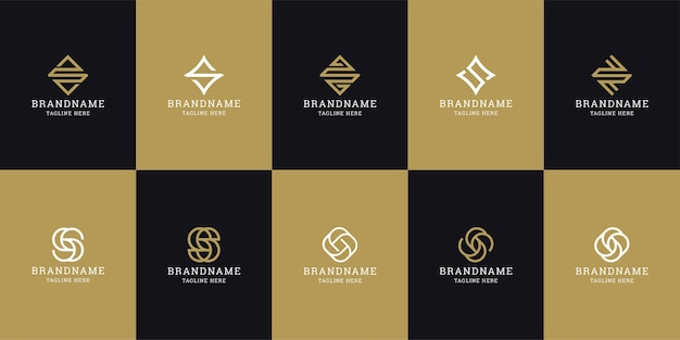 Litera s początkowy szablon projektu ikona logo. elegancki, nowoczesny, luksusowy.