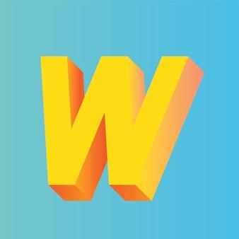 Litera w