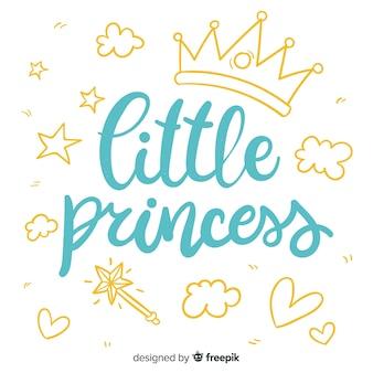 Literowanie cytat w stylu księżniczki