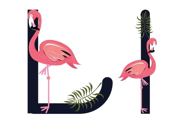 Ll flamingos