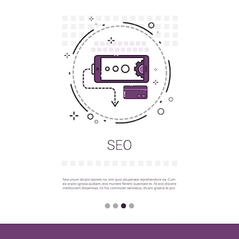 Local seo keywording search banner