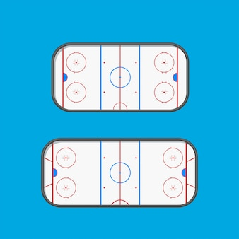 Lodowiska typu hokejowego