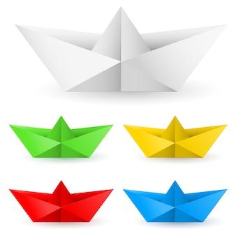 Łódź z papieru origami