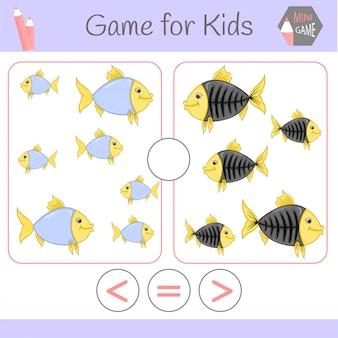 Logiczna gra edukacyjna dla dzieci w wieku przedszkolnym