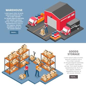 Logistyka i dostawa izometrycznych banerów