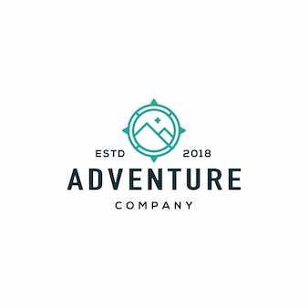 Logo adventure compass