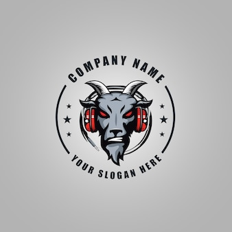 Logo angry goat
