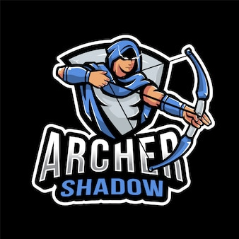 Logo archer shadow esport
