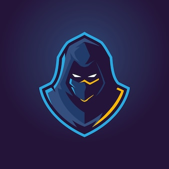 Logo Assassins Esports Premium Wektorów