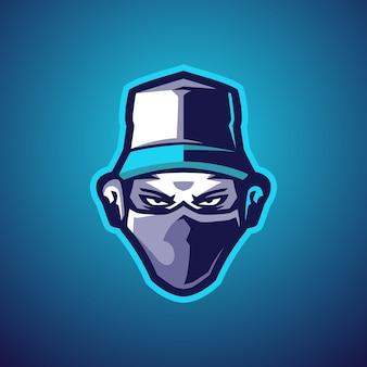 Logo Bad Boy Esports Premium Wektorów