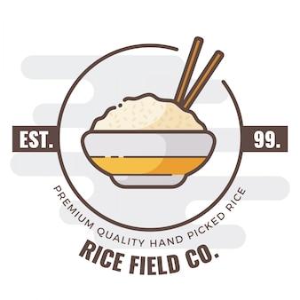 Logo badań ryżowych