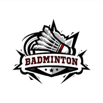 Logo badminton swoosh
