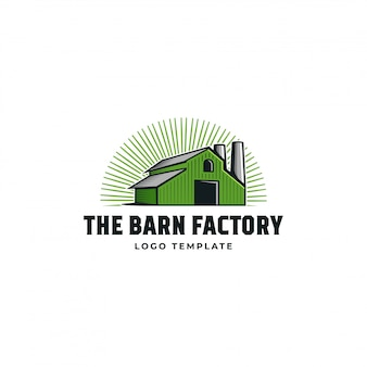 Logo barn factory