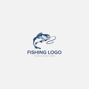 Logo bass fishing