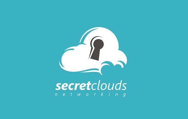 Logo bezpieczeństwa chmury.