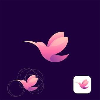 Logo buczącego ptaka