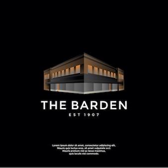 Logo budynku gradientu