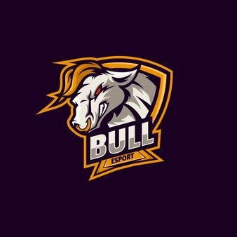 Logo bull e sport i styl sportowy