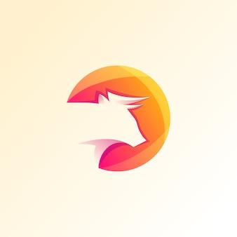 Logo bull premium