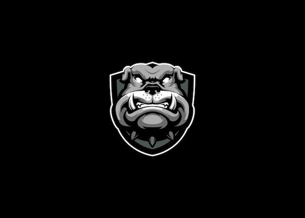 Logo bulldog esport