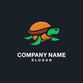 Logo burger turtle