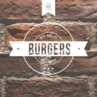 Logo Burger Darmowych Wektorów