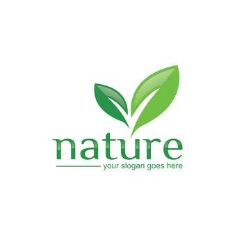 Logo charakter liścia