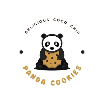 Logo ciasteczek pandy