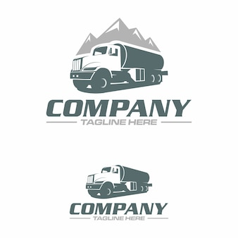 Logo ciężarówki z wodą