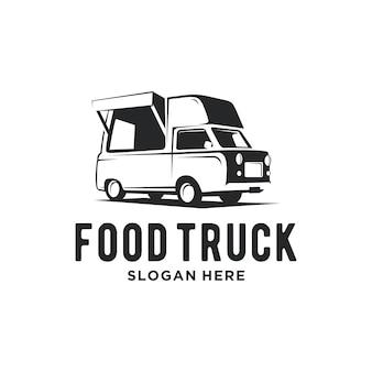 Logo ciężarówki żywności