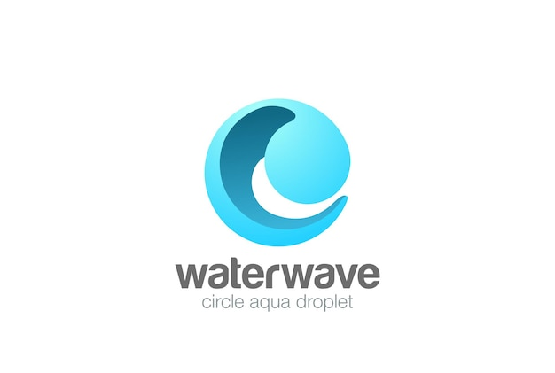 Logo circle sphere wave.