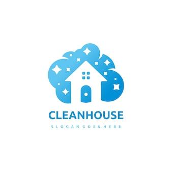 Logo clean house