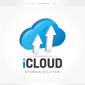 Logo cloud storage