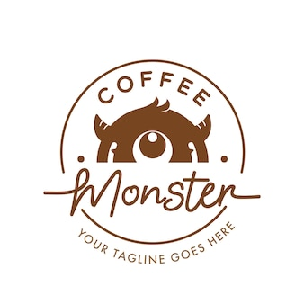 Logo coffee monster
