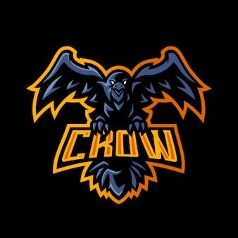 Logo crow esport