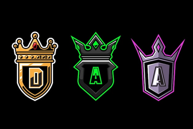 Logo crown guard esport