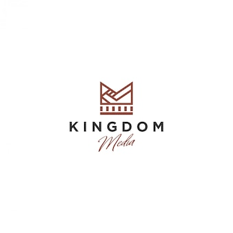 Logo crown, kingdom media