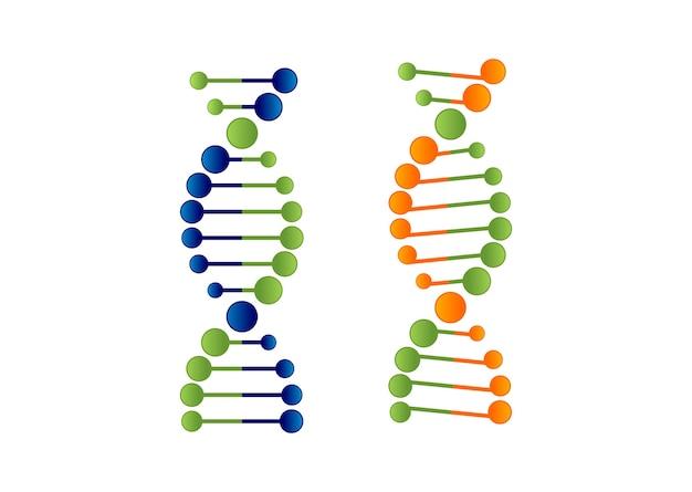 Logo cząsteczki dna