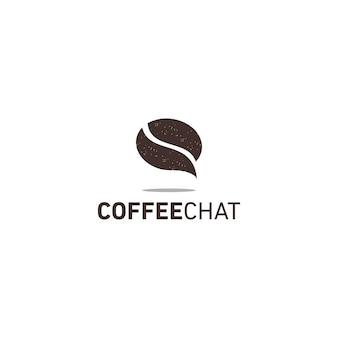 Logo czatu kawowego
