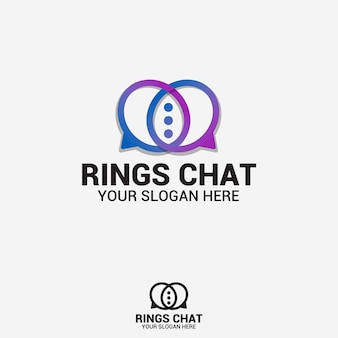 Logo czatu pierścieni