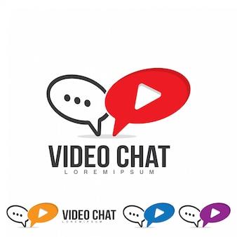 Logo czatu wideo