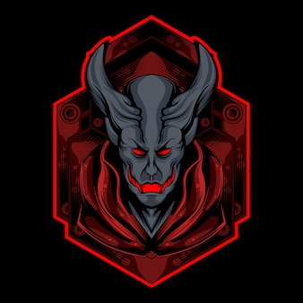 Logo czerwonego demona
