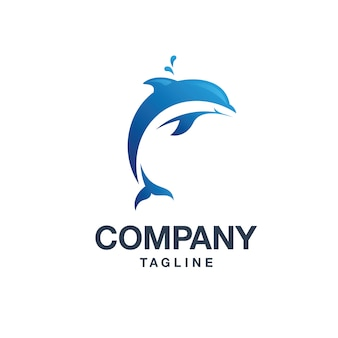 Logo delfinów