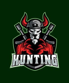 Logo devil hunter esports