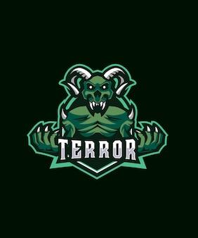 Logo devil terror esports